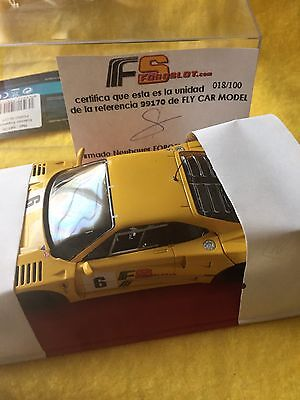 Ferrari F40 Foro Slot Fly Car.the Last Official Reference 99170 Limited To 100