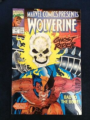 Marvel Comics Presents Wolverine Ghost Rider #70