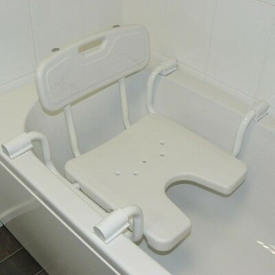 Adjustable width suspended bath bench bath board seat with or without backrest