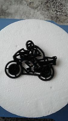 Patchwork Cutters MOTORBIKE - Cake Decorating Embosser Cutter (used)