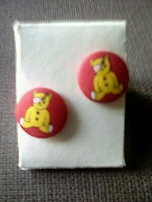 Extremely rare vintage Pudsey Children in need Cufflinks
