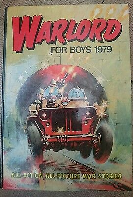 Warlord annual comic book (1979)