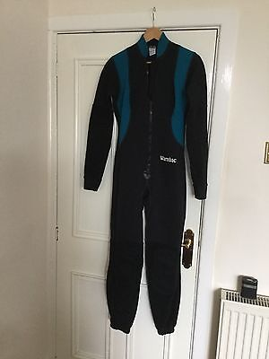 Warmbac Caving/Potholing Under suit Chest 39 Inches Neoprene Body, Fleece Arms A