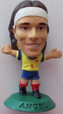 Juan Pablo Angel 2004 Colombia Football Corinthian Figure Green Base MC3100