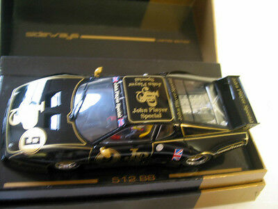 Scalextric Compatible Sideways 512 Bb John Player Special Limited Ed 572/1008