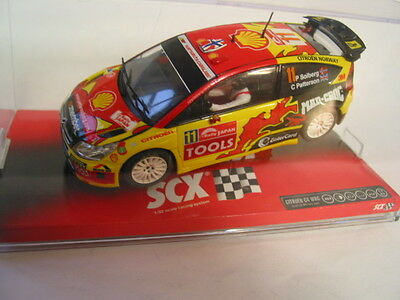 Scx - Scalextric Compatible 64820 Citroen C4 Wrc Solberg  Mint Boxed