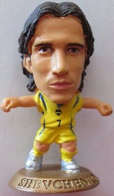 Andriy Shevchenko 2006 Ukraine FA Football Corinthian Figure Gold Base MC5685
