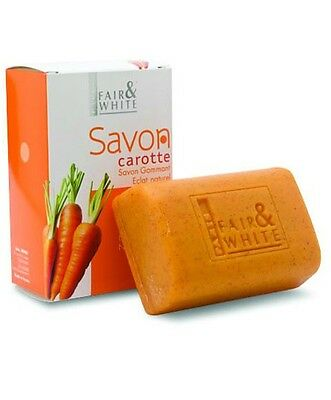 Fair And White Exfoliating Carrot Soap 200G