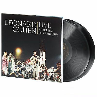 LEONARD COHEN ~ LIVE AT THE ISLE OF WIGHT ~ 2 x 180gsm VINYL LP ~ *NEW/SEALED*