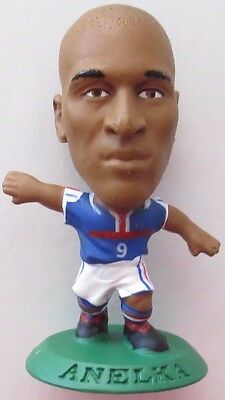 Nicolas Anelka 2001 France FA Football Soccer Corinthian Figure Green Base MC481