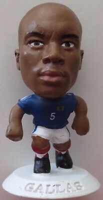 William Gallas 2003 France Football Soccer Corinthian Figure White Base MC1615