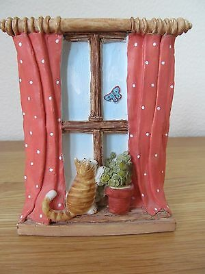 Peter Fagan Colour Box Cat Home Sweet Home Hs311 Daybreak Window 1986