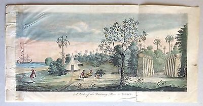 Northern Mariana Islands. Tinian, A voyage by George Anson, 1749