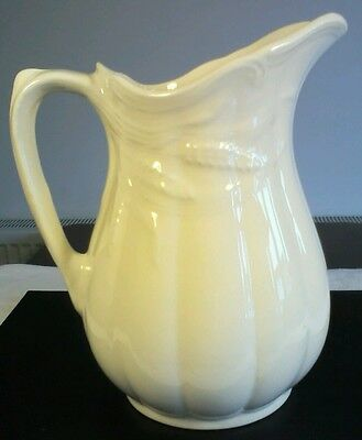 """Lovely Vintage Royal Crownford Ironstone """"Wheat"""" Jug 7.1/2ins. High"""