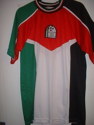 "Palestine Adult Large 44"" Football Soccer Shirt Jersey Asia Palestinian Top"