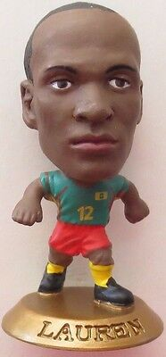 Lauren 2004 Cameroon FA Football Soccer Corinthian Figure Gold Base MC2672