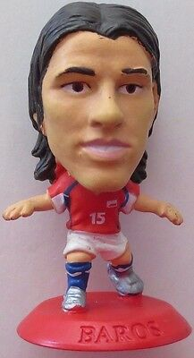 Milan Baros 2005 Czech Republic Football Corinthian Figure Red Base MC4534
