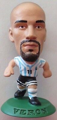 Juan Sebastian Veron 2001 Argentina Football Corinthian Figure Green Base MC470