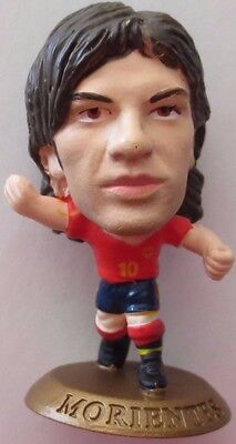 Fernando Morientes 2005 Spain Football Soccer Corinthian Figure Gold Base MC4567