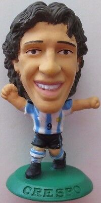 Hernan Crespo 2004 Argentina Football Corinthian Figure Green Base MC3097, Parma