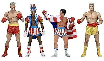 Rocky Balboa 40th Anniversary Series 2 Ivan Drago Apollo Creed Action Figur NECA