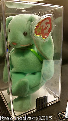 TY Beanie Baby HIPPITY *Rare *Authenticated *Tag Errors *MWMT PVC MUSEUM QUALITY