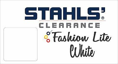"15"" x 8 Yards - Stahls' Fashion-LITE Heat Transfer Vinyl - HTV - White"