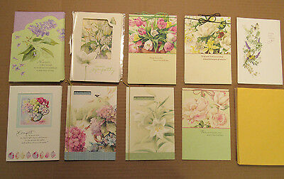 Lot of 33 Marjolein Bastin Hallmark Nature's Sketchbook Sympathy Cards
