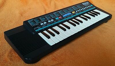 Yamaha PSS 50 Portasound Portable Electronic Keyboard Synth Piano Working Bend