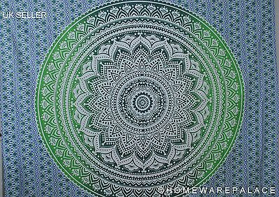 Indian Tapestry Wall Hanging Mandala Throw Hippie Bedspread Bohemian Double