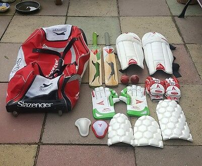 Slazenger Cricket Equipment Bundle