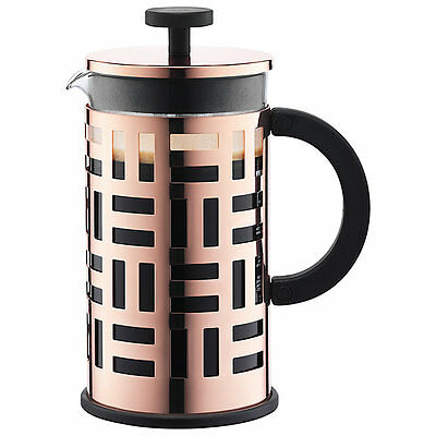 Bodum Eileen French Press Cafetiere - 8 cup, 1 L - Copper - NEW