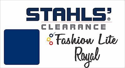 "15"" x 13 Yards - Stahls' Fashion-LITE Heat Transfer Vinyl HTV - Royal Blue"