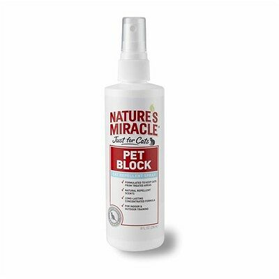 New Natures Miracle Just for Cats Pet Block Repellent Spray 236ml