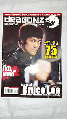 Bruce Lee Dragon Magazine Tribute Issue From Spain