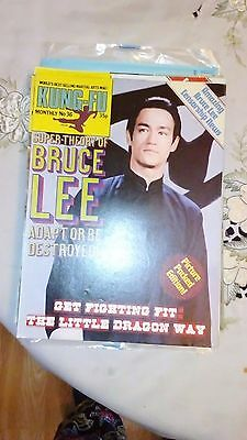 Kung Fu Monthly Poster Magazine no 36- Excellent condition!! Bruce Lee KFM