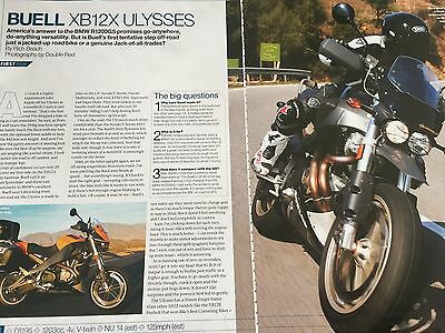 Buell Xb12X Ulysses - Original 4 Page 2006 Colour Motorcycle Article