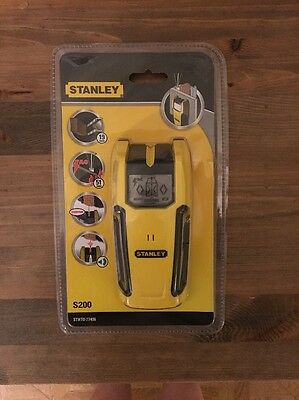 Brand New And Sealed Stanley Stud And Cable Detector S200