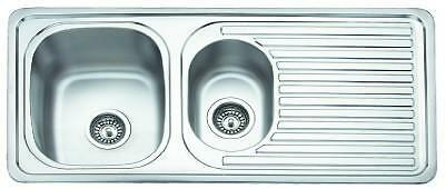 High Quality Astracast Stainless Steel 1.5 Bowl Kitchen Sink Reversible Drainer