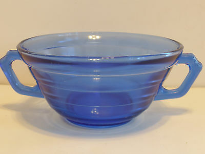 Moderntone 2 Handled Soup Bowl...Cobalt Blue