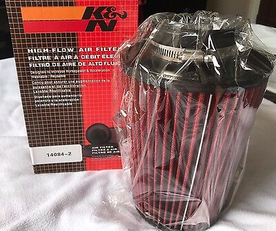 Universal K&N Performance Sport Air Filter Cone Induction Kit High Power