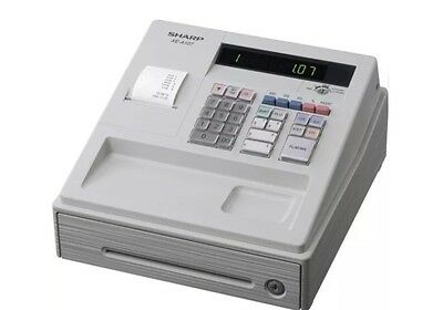 Sharp XE-A107-WH Electronic Cash Register Easy To Use With Free P&P