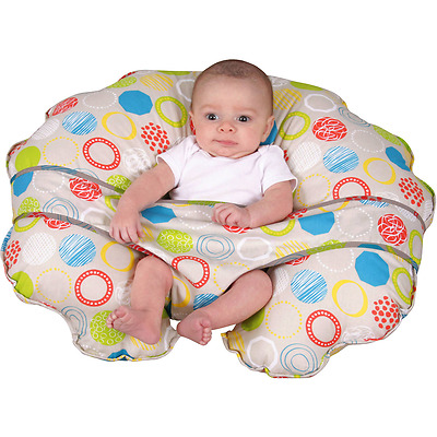 Newborn Lounger Nursing Boppy Style Pillow Sling Cover Seat Wrap Unisex NEW