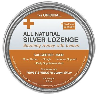 All Natural Silver Lozenges