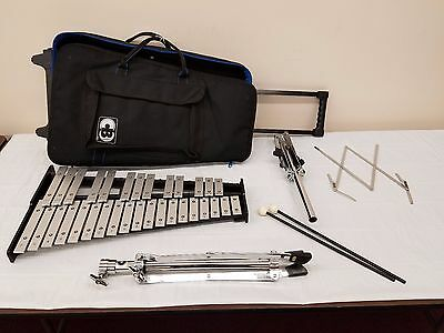CB Percussion 8676 Percussion Kit w/ Roller Bag