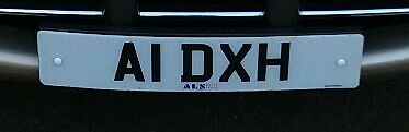 Personalised / cherished / private registration number plate. A1 DXH