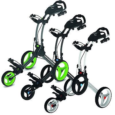 Clicgear Rovic RV1C Carro de Golf-Golf Trolley+  FREE umbrella & drinks holders