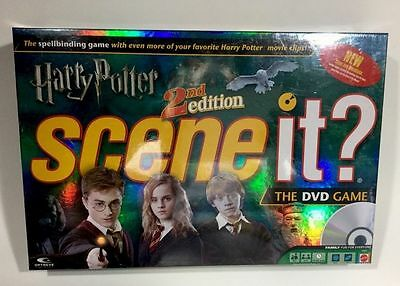 Harry Potter Scene It Dvd Game 2Nd Edition Brand New Sealed