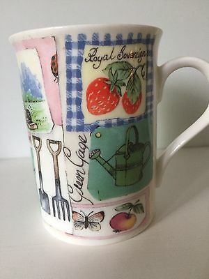 ROY KIRKHAM Fine Bone China Mug- Garden Design The Henley Collection 2008