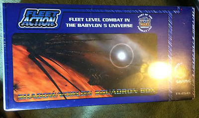 Vorlon/Shadow Squadron Box - Babylon 5 Wars Fleet Action - NEW